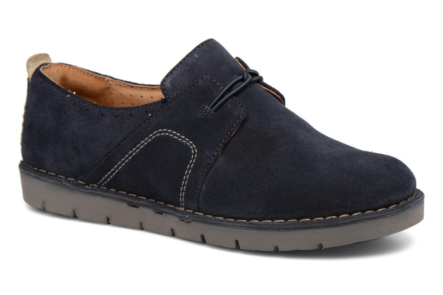 Clarks Clarks Clarks UN AVA Navy Rounded toe Lace up Schuhes UK 8 (D FIT) EU 42 LG077 BB 10 6fc827
