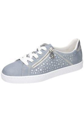 Rieker L4828 12 Halbschuhe Sneaker Damenschuhe blau Gr.36 42 Neu23   eBay
