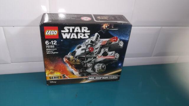 LEGO NEUF scellé Star wars 75193 series 5 millenium falcon microfighters