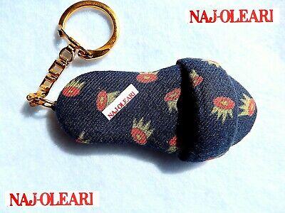 ???? Naj Oleari Vintage Portachiavi Scarpa Sandalo Sandal Key Ring Italian Fashion Per Produrre Un Effetto Verso Una Visione Chiara