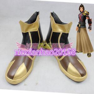 New Kingdom Hearts Birth By Sleep Terra Cosplay Shoes Short Boots Ebay