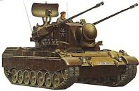 Toy Soldiers Model Kit 1 35 Scale W. German FlakPz Gepard Tank Tamiya 35099 Toys