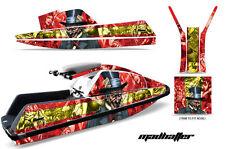 AMR Racing Yamaha Superjet Square Nose Jet Ski Decals Graphics Kit Wrap HATTER Y