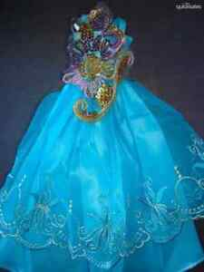 Popular-Barbie-Doll-sized-Accessory-Cloth-1-Fashion-dress-good-girl-Gift-ON-SALE