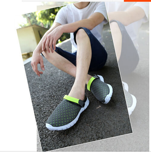 Summer Fashion Men/'s Slippers Sports Breathable sandals Casual hole Beach shoes