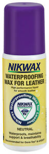 Nikwax WATERPROOFING WAX FOR LEATHER liquid treatment for boots and shoes 125ml