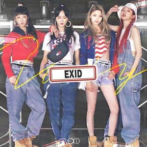 EXID-Do-It-Tomorrow-2nd-Single-Album-CD-Booklet-Photocard-Poster-KPOP-Sealed