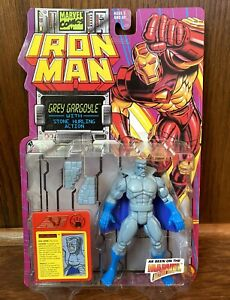 Grey Gargoyle Vintage Iron Man Action Figure New 1994 Toybiz 90s Marvel Comics