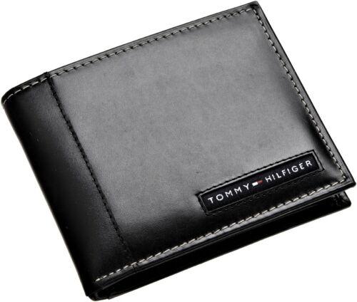 Tommy Hilfiger Herren Leder Cambridge Passcase Etui mit Abnehmbar Kartenfach