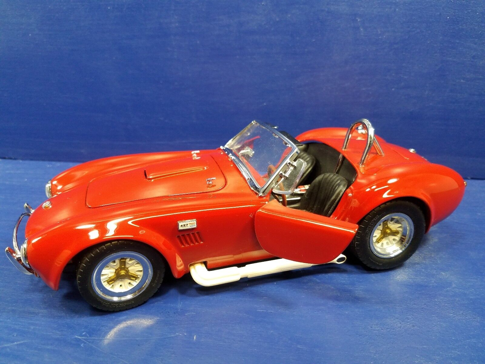 1 18 Kyosho 1965 Shelby Cobra 427 rouge 1 18 DIE CAST