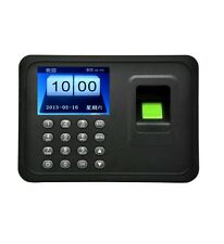 A6 TFT Fingerprint Machine Attendance Time Clocks Employee Payroll Recorder edu