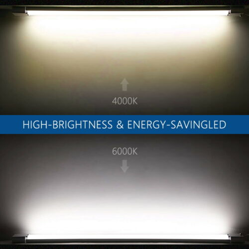 LED Feuchtraumlampe Deckenleuchte Werkstatt Keller Nassraum Wannenleuchte Röhre