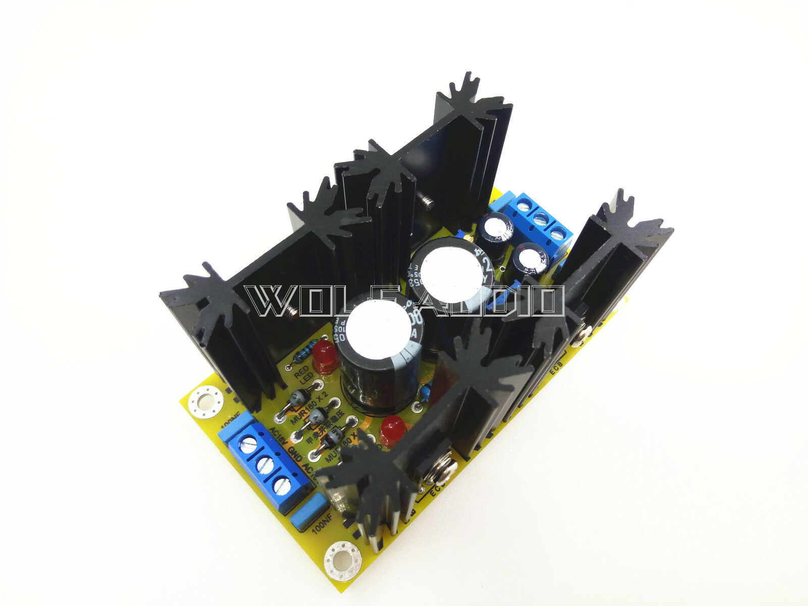 Mini Class A 5v 20v Adjustable Shunt Regulator Output Power Supply Here Is Our Finished Plate For Your Reference