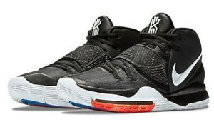 Details about Nike Kyrie 6 Jet Black Basketball Shoes 100%LEGIT Kyrie  Irving Men BQ4630-001