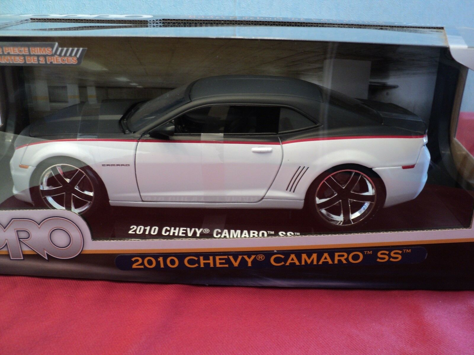 Jada 2010 chevrolet camaro ss nib 1   18 skala 2012 veröffentlichung lopro räder