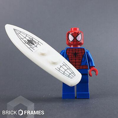 Lego Spider-Man w// Surfboard Minifigure BRAND NEW Marvel Super Heroes 76059