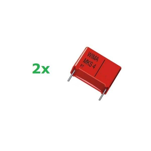 2019 Nieuwste Ontwerp 2x Wima Mks4 0,47uf/400v, Condensatore Poliestere P: 22,5, (474) Aantrekkelijke Ontwerpen;