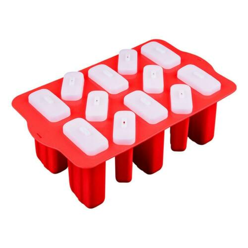 Silicone Frozen Ice Cream Mold Juice Popsicle Maker DIY Ice Lolly Mould Tray