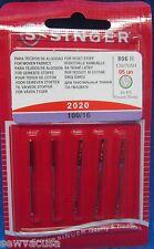 Singer Sewing Machine Needles 2020 SIZE 16 Heavy Duty GENUINE