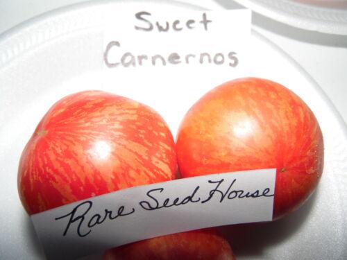 Detalles acerca de  /Sweet carnernos Semillas De Tomate mostrar título original S//h ver nuestra tienda! Peine
