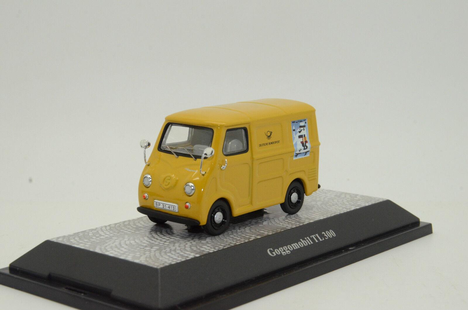 RARE       Goggomobil TL 300 Deutsche Post Premium ClassiXXs 10490 1 43 0492d1