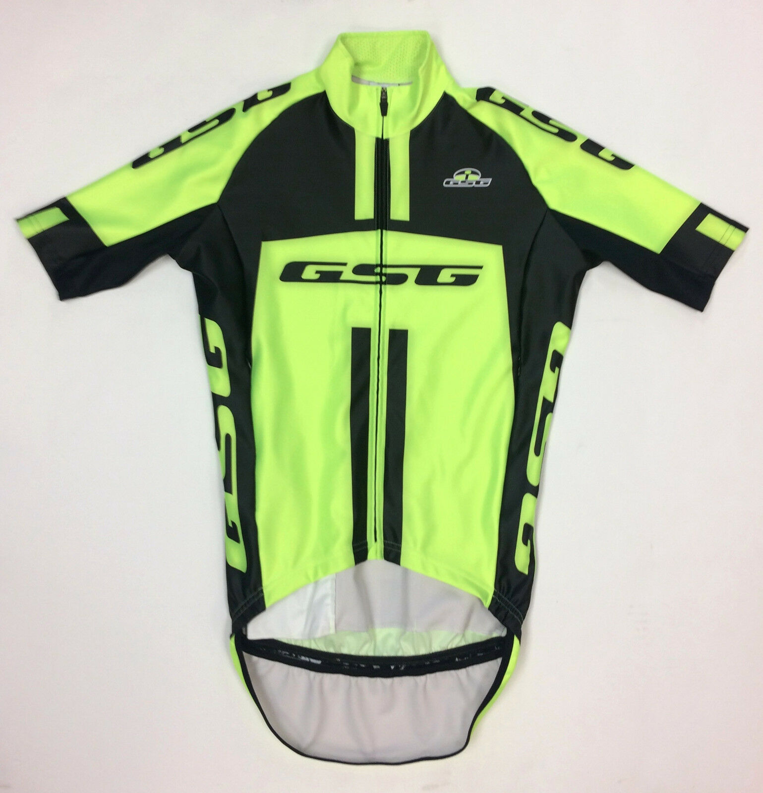 Men's Wind & Water Resistant Short Sleeve CYCLING Jersey Made in  by GSG