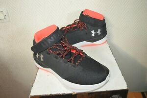CHAUSSURE-BASKET-UNDER-ARMOUR-TAILLE-45-US-11-SHOES-ZAPATOS-CUIR-ET-TEXTILE-NEUF
