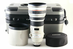 B-Good-Canon-EF-400mm-f-2-8-L-IS-USM-AF-Lens-w-Trunk-Hood-From-JAPAN-5651
