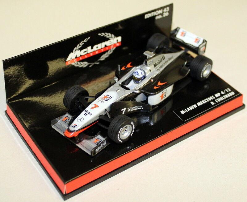 Minichamps 1 43 Scale 530 984307 McLaren Mercedes MP4-13 D Coulthard Diecast F1