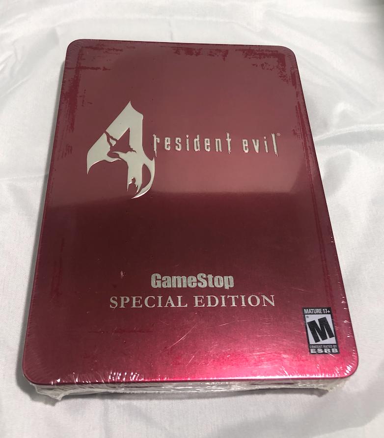 Resident Evil 4 Premium Edition Tin Gamestop Exclusive Nintendo Gamecube 2005 For Sale Online Ebay