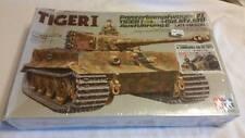 1989 Tamiya 1/35 German Tiger I Ausfuhrung E  Model Tank Kit