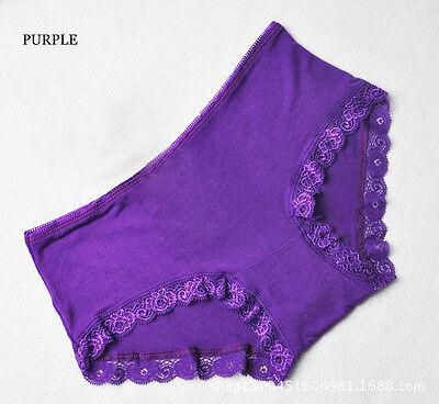Hot Modal Women Lady Sexy Lace Underwear Panties Underpants Lingerie Knickers