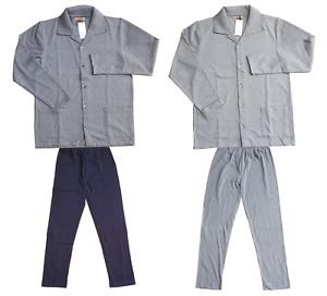 Man Pajamas winter Warm Cotton FERRUCCI Mod. Open polo 3628 S MORPHEUS 2