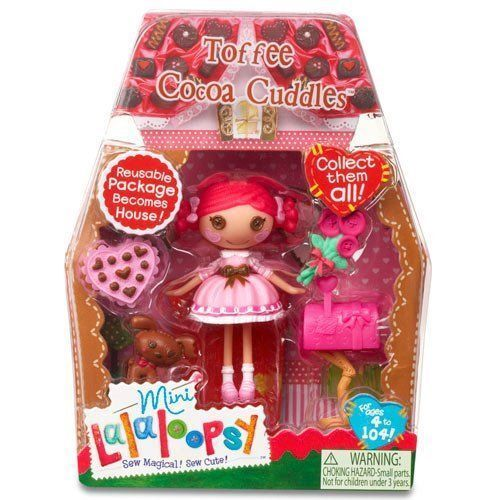 NEW IN BOX RETIRED /& HARD TO FIND Lalaloopsy Mini Doll TOFFEE COCOA CUDDLES