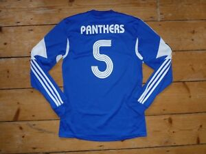 Matchworn-Camiseta-de-Futbol-Pollington-Panthers-Junior-Club-5-Home-Adidas