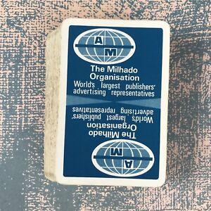 Vintage Playing Cards Advertising The Mihado Organisation Publishers - Surrey, United Kingdom - Vintage Playing Cards Advertising The Mihado Organisation Publishers - Surrey, United Kingdom