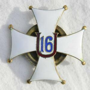 Details about POLAND Polish WW2 16 Uhlan Regiment badge (Bydgoszcz)  silvered bronze