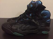 1992 SHAQ ATTAQ Vintage Reebok THE PUMP Black Basketball Shoes Sz 10 US Men
