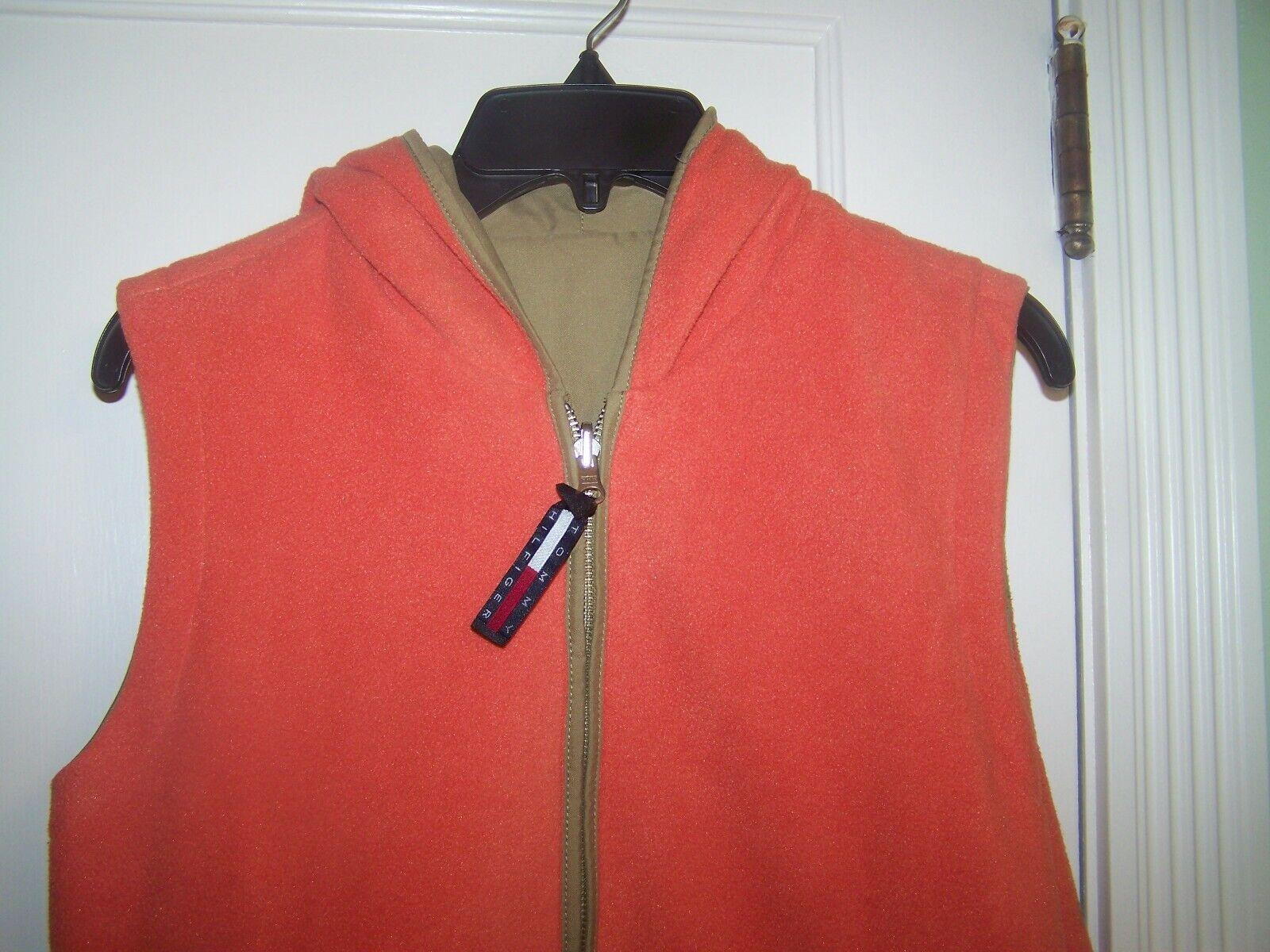Tommy Hilfiger Vest Reversible Large Orange - image 2