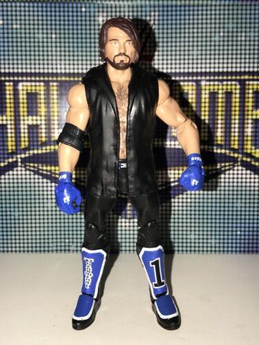 WWE Mattel Elite 47 AJ Styles Complete With Jacket TNA SmackDown Live!
