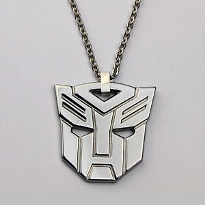 Tungsten carbide superhero transformers autobot necklace with chain image is loading tungsten carbide superhero transformers autobot necklace with chain aloadofball Image collections