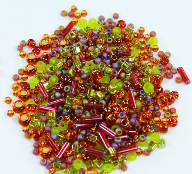 PICK COLOUR ML 30g Approx 3mm Size 8//0 Glass Seed Beads Jewellery Beading