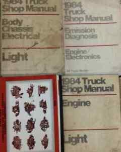 1984-Ford-F-150-F150-250-350-F350-Bronco-Truck-Service-Shop-Repair-Manual-Set-4