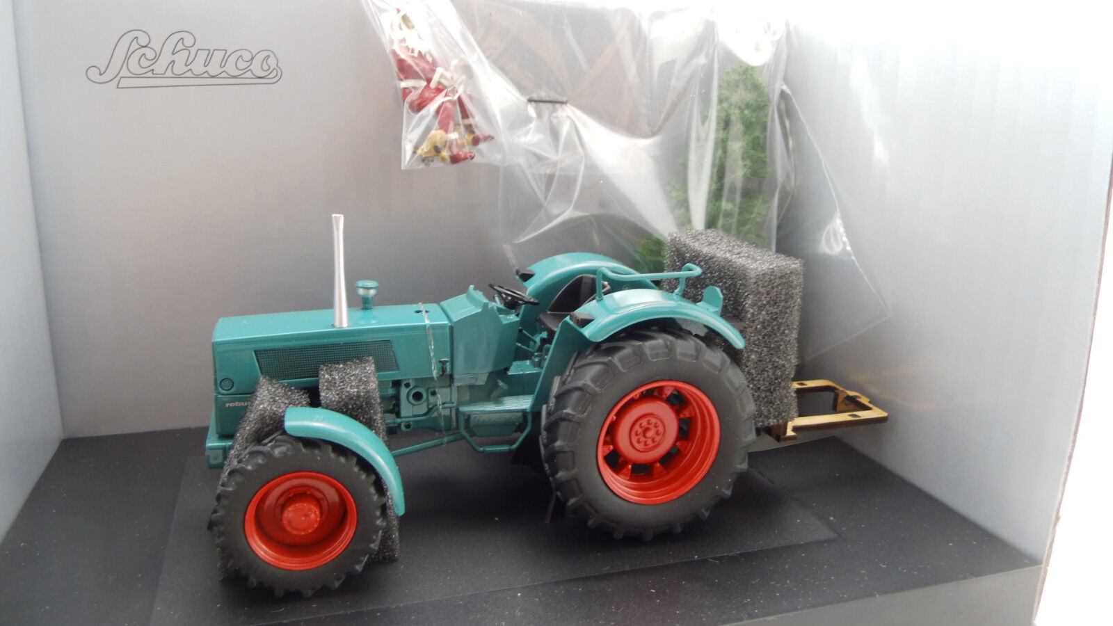 Schuco 450780200 Hanomag robusto 900 navidad 1 32 nuevo embalaje original