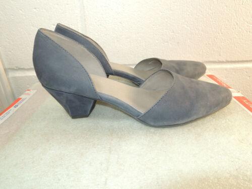 EILEEN FISHER Blue Nubuck Slip On Shoe Women Size