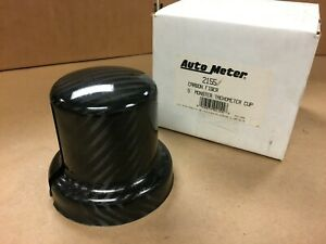 CLOSEOUT-AUTOMETER-2155-CARBON-FIBER-5-034-TACHOMETER-MOUNTING-CUP