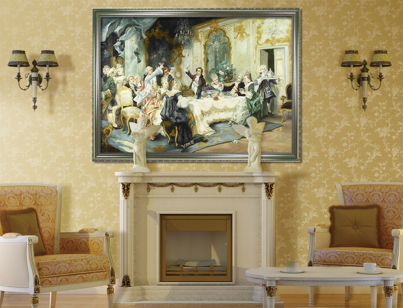 3D Noble Toast 46 Framed Poster Home Decor Print Painting Art AJ WALLPAPER