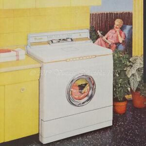 1956 Bendix Gas Duomatic Washer Dryer