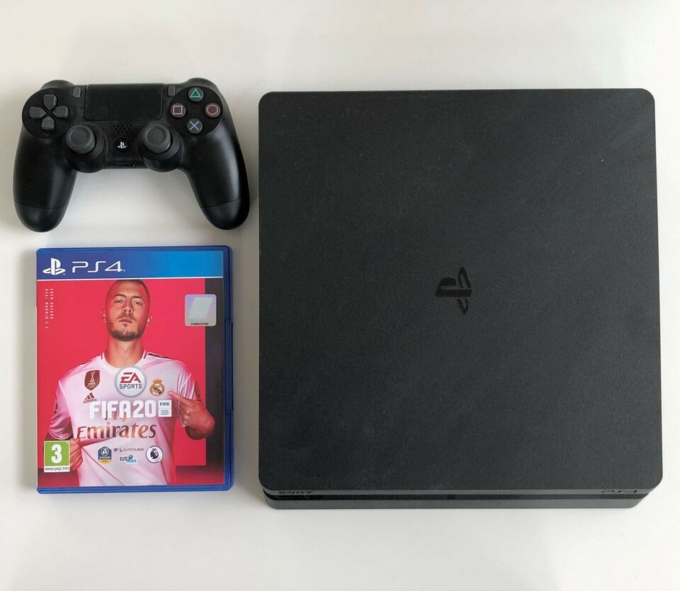 Playstation 4, Slim, Perfekt