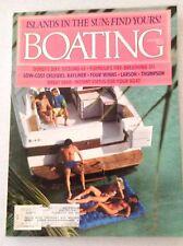 Boating Magazine Donzi's Sexy 65 Formulas 311 November 1986 013017RH